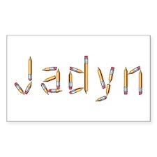 Jadyn Pencils Rectangle Decal