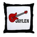 Guitar - Jaylen Throw Pillow