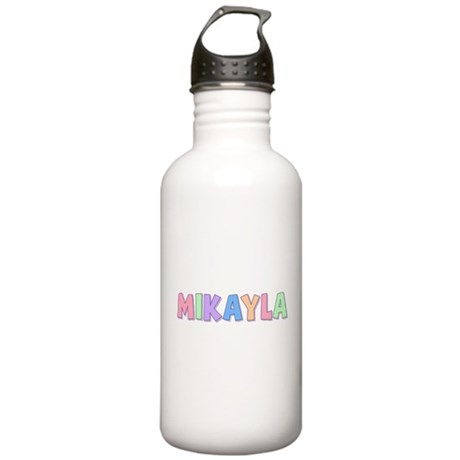 Mikayla Rainbow Pastel Stainless Water Bottle 1.0L