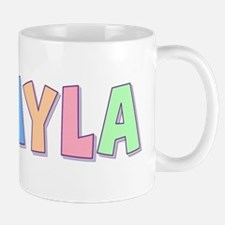 Mikayla Rainbow Pastel Mug