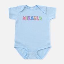 Mikayla Rainbow Pastel Infant Bodysuit