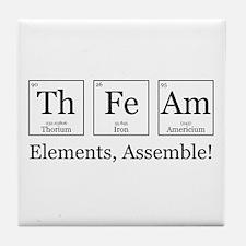 Elements, Assemble! Tile Coaster
