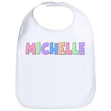 Michelle Rainbow Pastel Bib