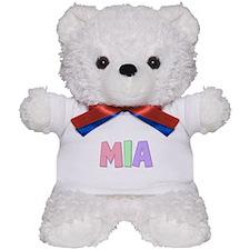 Mia Rainbow Pastel Teddy Bear