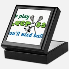 You'll Need Balls Keepsake Box