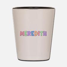 Meredith Rainbow Pastel Shot Glass
