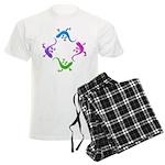 4 Geckos 4 Men's Light Pajamas