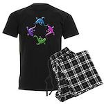 4 Geckos 4 Men's Dark Pajamas