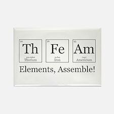 Elements, Assemble! Rectangle Magnet