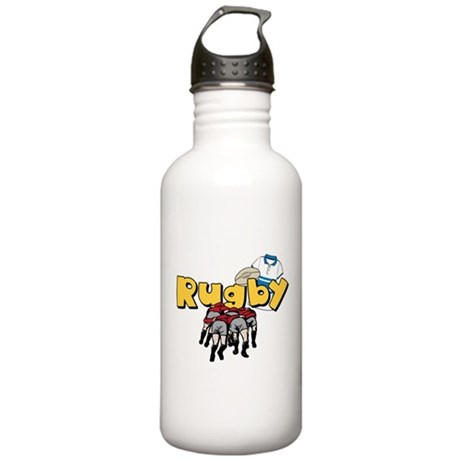 Rugby Stainless Water Bottle 1.0L