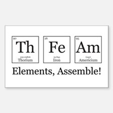 Elements, Assemble! Decal