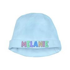 Melanie Rainbow Pastel baby hat