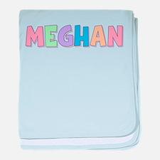 Meghan Rainbow Pastel baby blanket