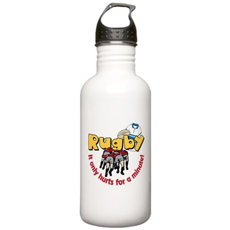 Only Hurts A Minute Stainless Water Bottle 1.0L