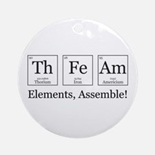 Elements, Assemble! Ornament (Round)