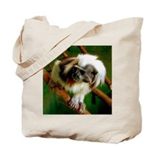 cotton-topped tamarin Tote Bag