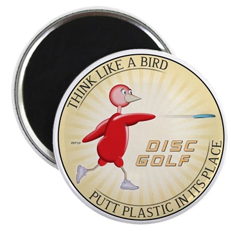 """Think Like A Bird #1 2.25"""" Magnet (100 pack)"""