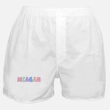 Meagan Rainbow Pastel Boxer Shorts