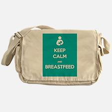 Keep Calm & Breastfeed - Messenger Bag