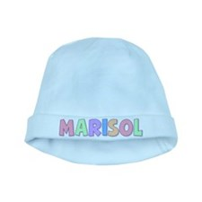 Marisol Rainbow Pastel baby hat