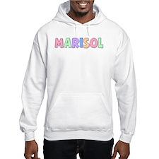 Marisol Rainbow Pastel Jumper Hoody