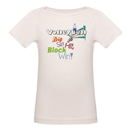 Dig Set Hit Organic Baby T-Shirt