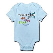 Dig Set Hit Infant Bodysuit