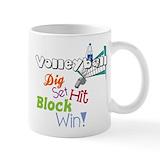 Volleyball water bottle Drinkware
