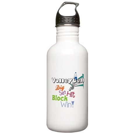 Dig Set Hit Stainless Water Bottle 1.0L