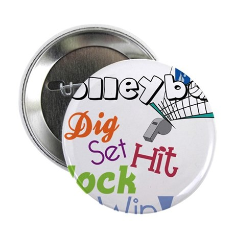 "Dig Set Hit 2.25"" Button"