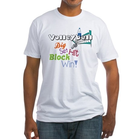 Dig Set Hit Fitted T-Shirt