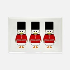 Nutcrackers Rectangle Magnet