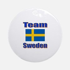 Team Sweden Ornament (Round)