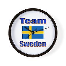 Team Sweden Wall Clock
