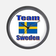 Team Sweden Wall Clock