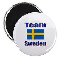 Team Sweden Magnet