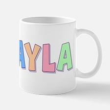 Makayla Rainbow Pastel Mug