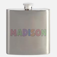 Madison Rainbow Pastel Flask