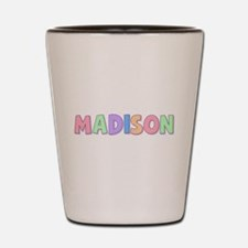 Madison Rainbow Pastel Shot Glass