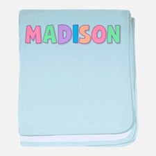 Madison Rainbow Pastel baby blanket
