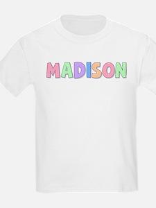 Madison Rainbow Pastel T-Shirt