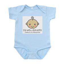 Well-Adjusted Baby (Med) Infant Bodysuit