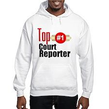 Top Court Reporter Hoodie