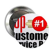 """Top Customer Service Rep 2.25"""" Button"""