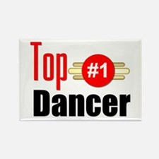 Top Dancer Rectangle Magnet