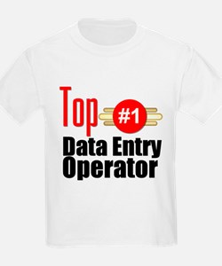 Top Data Entry Operator T-Shirt