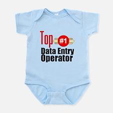 Top Data Entry Operator Infant Bodysuit