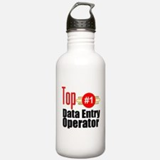 Top Data Entry Operator Water Bottle