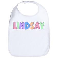 Lindsay Rainbow Pastel Bib