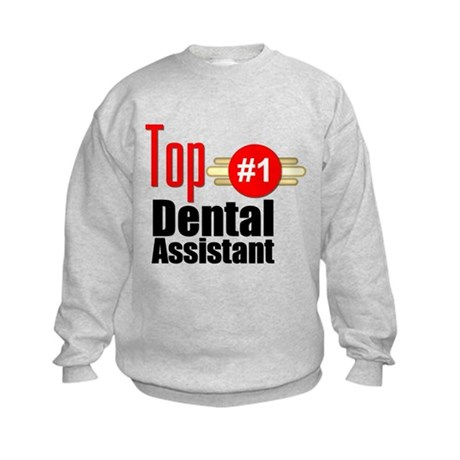 Top Dental Assistant Kids Sweatshirt